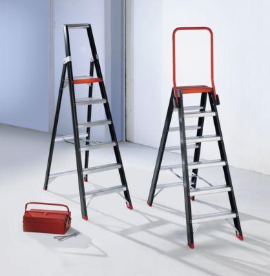 Sicherheits-Stehleiter - beidseitig begehbar