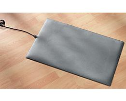 Fußmatte, heizbar - aus Kunststoff, mit Netzanschluss