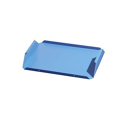 Entnahmeboden - Stahlblech, lichtblau, VE 2 Stk