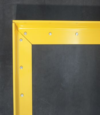 Anfahrschutz aus Stahl - Materialstärke 6 mm, Höhe 150 mm
