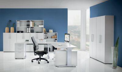 office akktiv NICOLA Schreibtisch - C-Fuß-Gestell, Höhe fix