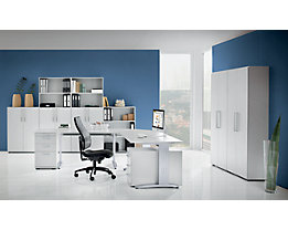 office akktiv NICOLA Büroregal - 2 Fachböden, HxBxT 1144 x 800 x 330 mm