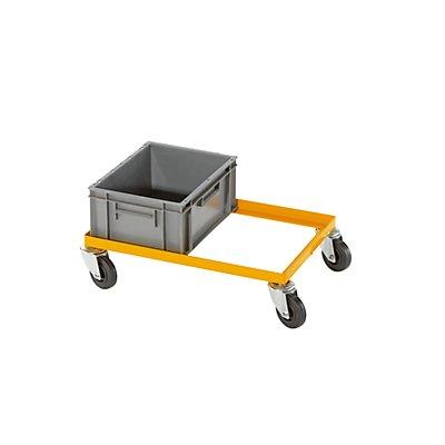 QUIPO Fahrgestell, Tragfähigkeit 200 kg - für Euroformat-Kisten