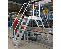 Passerelle - charge totale max. 300 kg