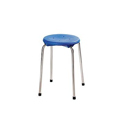 Stapelhocker aus Edelstahl - Sitzhöhe 500 mm