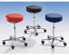 Tabouret multi-fonctions - assise en similicuir