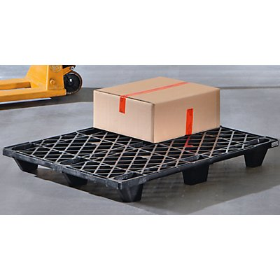 Industriepalette aus Kunststoff - LxB 1200 x 1000 mm, Traglast statisch 1600 kg