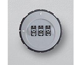 Zylinder-Zahlenschloss - für Schlüsselschrank - Mehrpreis