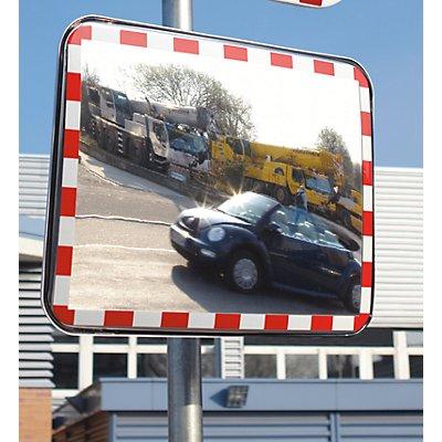 dancop Verkehrsspiegel aus Acrylglas - Ausführung rahmenlos