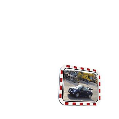 dancop Verkehrsspiegel im XXL-Format - aus Acrylglas, BxH 1200 x 1000 mm - Beobachterabstand 27 – 35 m
