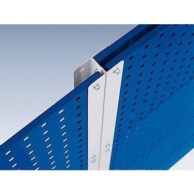 EUROKRAFT Lochplatten-Stellwand, Höhe 1845 mm - Erweiterungsmodul