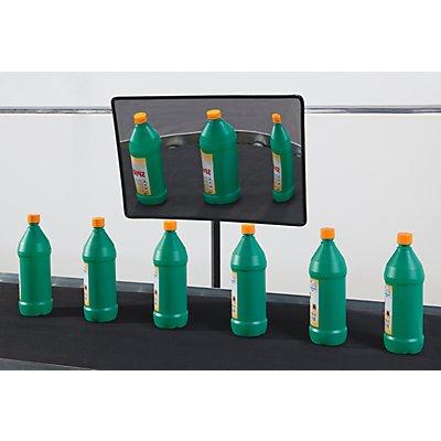 Überwachungs- und Kontrollspiegel aus Acrylglas - mit Vergrößerungseffekt