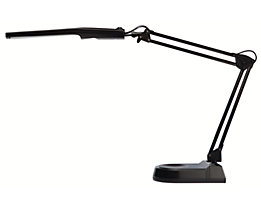 Energiespar-Leuchte - Leistung 11 Watt, VE 2 Stück - schwarz, VE 2 Stk