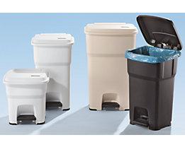 Tretabfalleimer aus Kunststoff - Volumen 60 Liter