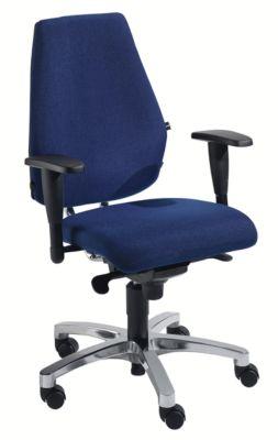 Topstar Operator-Drehstuhl, Punktsynchronmechanik - Flachsitz mit Knierolle und Body Balance Tec®