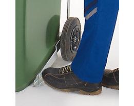 Pedal-Deckelöffner - für 80/120-Liter-Mülltonne - verzinkt
