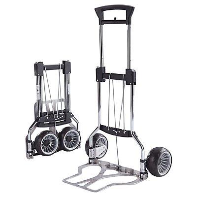 RuXXac-cart Cross Transportkarre - klappbar, extra breite Räder - Tragfähigkeit 75 kg