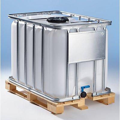 WERIT IBC Transport- und Lagertank auf Holzpalette - Inhalt 600 Liter