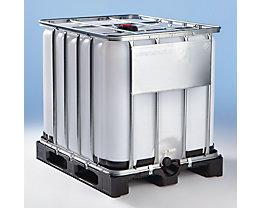 IBC Transport- und Lagertank auf Kunststoffpalette - Inhalt 600 Liter