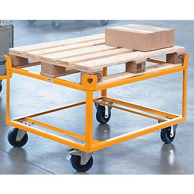 QUIPO Fahrgestell - Tragfähigkeit 750 kg, Ladehöhe 650 mm