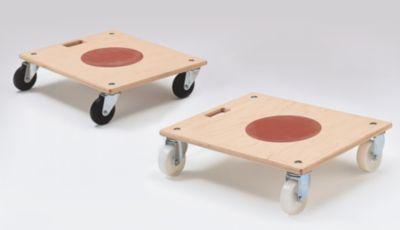Möbelroller mit Tragegriff - mit integriertem Rutsch-Stopp