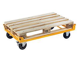 QUIPO Fahrgestell mit 4 Fangecken - Tragfähigkeit 750 kg