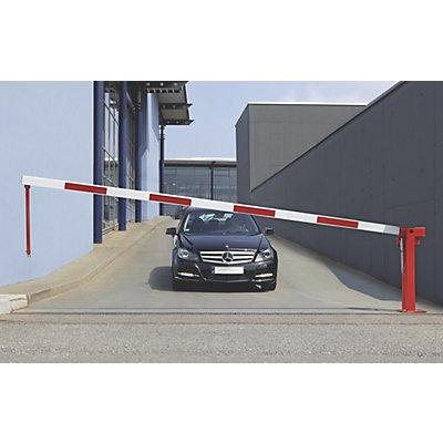 MORAVIA Wegesperre mit Gasdruckfeder - Pendelstütze gefedert