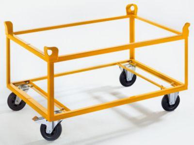 QUIPO Fahrgestell - Tragfähigkeit 350 kg, Ladehöhe 650 mm, ab 10 Stk