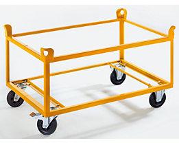 QUIPO Fahrgestell - Tragfähigkeit 350 kg, Ladehöhe 650 mm