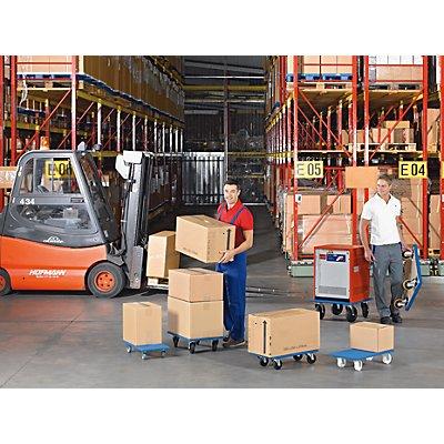 Möbelroller - LxBxH 600 x 600 x 185 mm