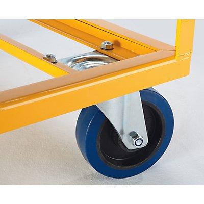 QUIPO Fahrgestell mit 4 Fangecken - Tragfähigkeit 750 kg, ab 10 Stk