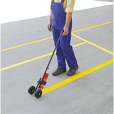Farbmarkiergerät - Markiergerät mit Rollen, Grifflänge 980 mm