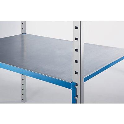 ManOrga Stahlboden-Auflage - für Rohrboden-Steckregal, VE 2 Stk