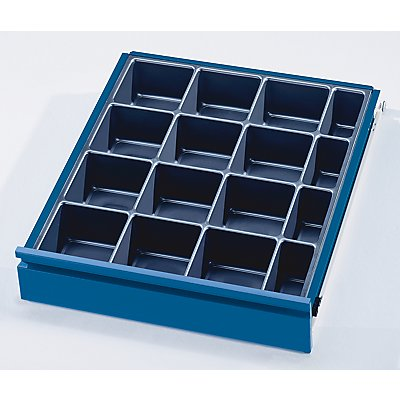 Schubladeneinteilungs-Set - 16 Kleinteilekästen