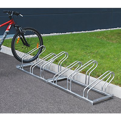 EUROKRAFT Range - vélos – étriers en tube d'acier, entrée 1 côté