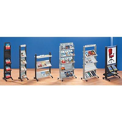 Prospektständer aus Polystyrol - für 6 x DIN A4