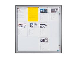 office akktiv Vitrine d'affichage à porte battante - l x h x p ext. 522 x 697 x 33 mm