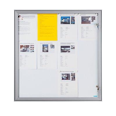 office akktiv Schaukasten mit Flügeltür - Außen-BxHxT 742 x 697 x 33 mm
