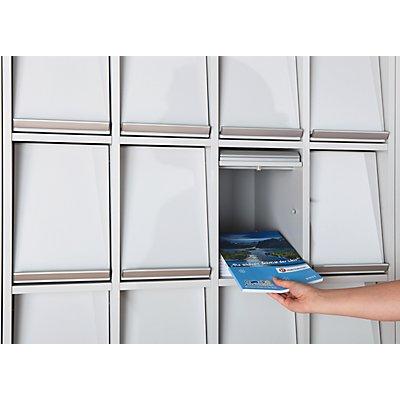 office akktiv Klappenschrank - mit 15 Klappen - HxBxT 1864 x 755 x 420 mm