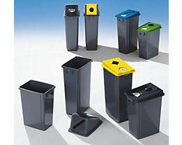Collecteur de tri en plastique - capacité 60 l