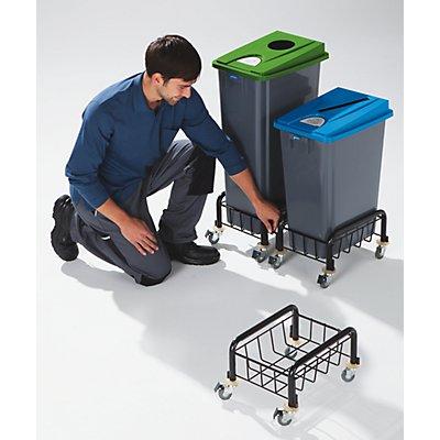 Kunststoff-Wertstoffsammler - Volumen 80 l