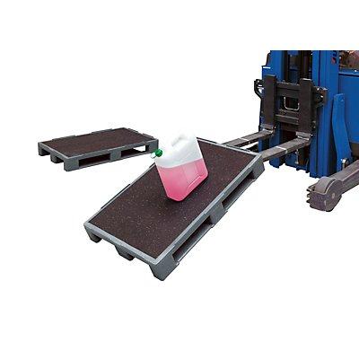 KIGA Schwerlastpalette mit Antirutsch-Beschichtung - LxB 1200 x 1000 mm