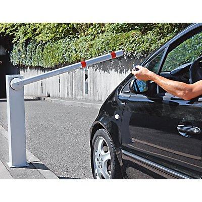 Schranke, elektrisch - integrierte Solarzelle, Fernbedienung