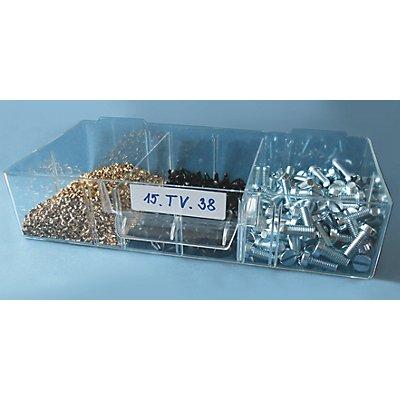 Querteiler, aus Polystyrol - glasklar