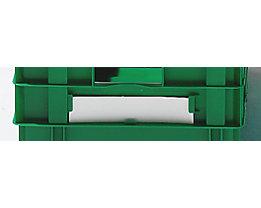 Etiketten - VE 50 Stk, weiß - für Inhalt 49 l