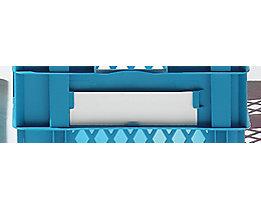 Etiketten - VE 50 Stk, weiß - für Inhalt 58,5 / 78 l