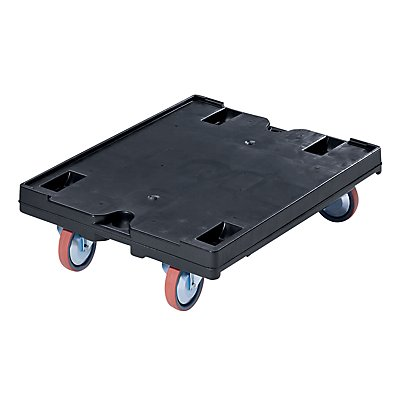 Transportroller - 800 x 600 mm, Tragfähigkeit 500 kg, ab 5 Stk
