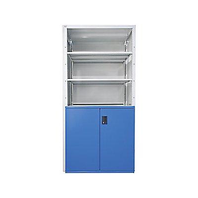 Lista Schubladenregal - 3 Universal-, 2 Verstell-, 2 Auszugböden 75 kg