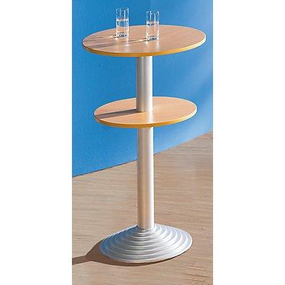 sodematub bistrotisch mit gusseisenfu 2 tischplatten abstand 30 cm. Black Bedroom Furniture Sets. Home Design Ideas