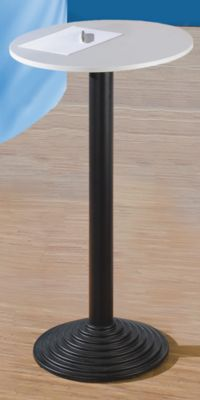 Bistrotisch mit Gusseisenfuß - 1 Tischplatte